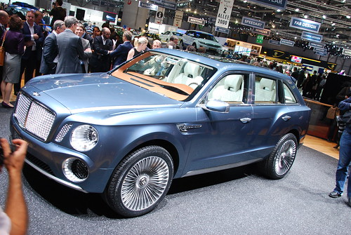 Concept SUV EXP 9F by Bentley