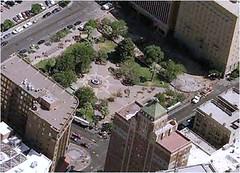 San Jacinto Plaza now (via Plan El Paso)