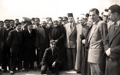 وداعه في مطار دمشق - 1948