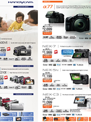 Videocams, DSLRs and MIL cameras