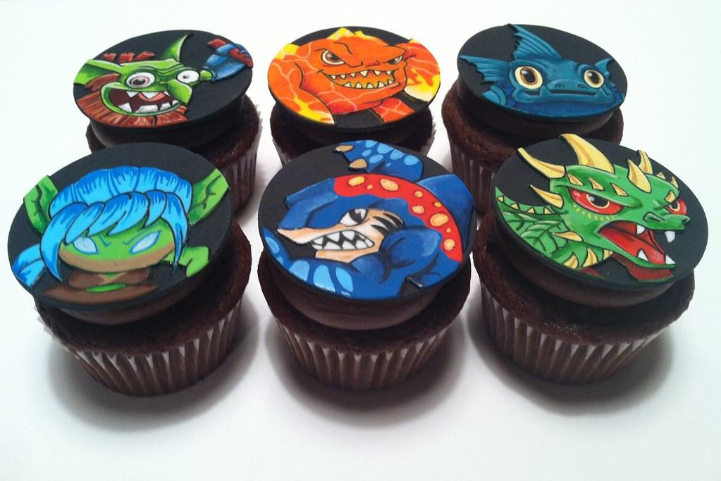 skylander cupcakes walmart