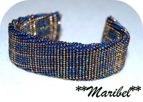 Pulsera Ganchillo by HADA-Maribel