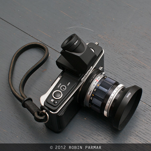 Olympus E-P2 with VF-2 viewfinder
