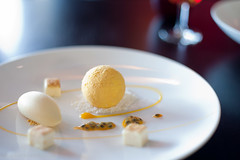 White Chocolate Parfait, Passionfruit