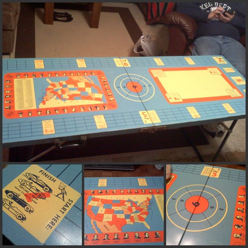 game table collage