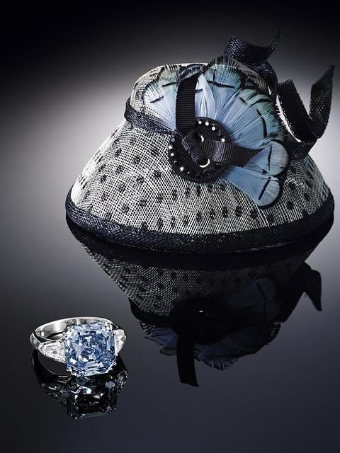 8.01-carat Emerald-cut Fancy Vivid Blue Diamond and Diamond Ring 1-1.jpg