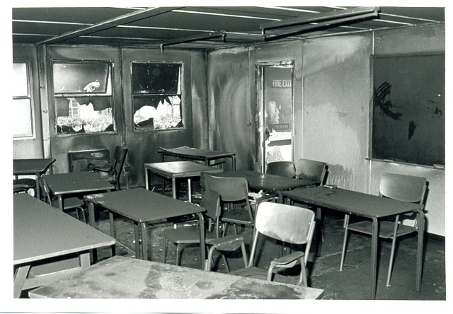 Modular Classrooms Inside ~ Inside mobile classroom damaged by fire avenue campus c