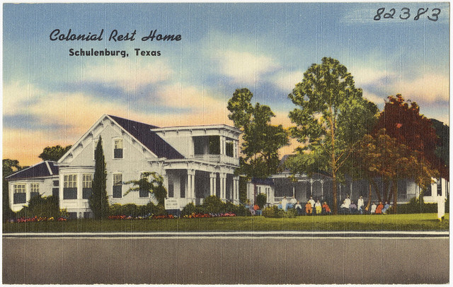 Colonial Rest Home Schulenburg Texas Flickr Photo Sharing