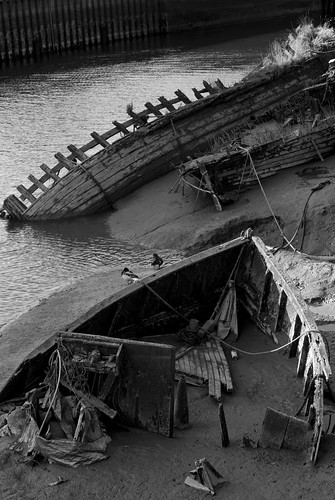 Old Wrecks - River Witham, Boston, Lincolnshire