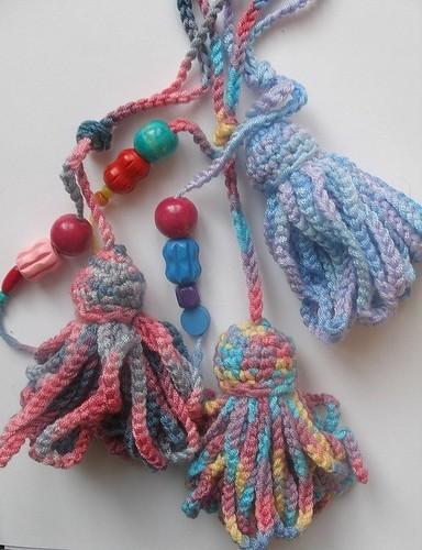 Crochet tassels