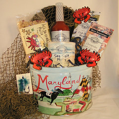 Baltimore Crabby Gift Basket