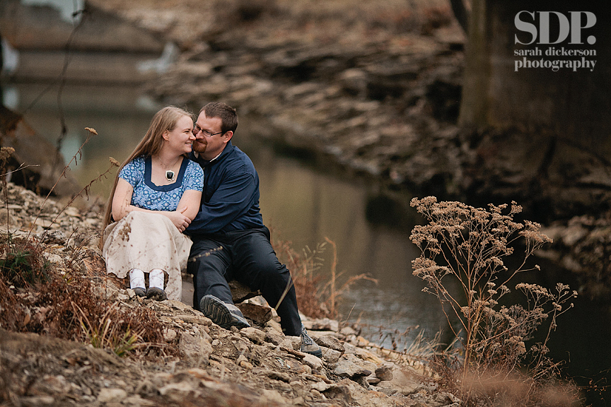 Shawnee Mission Park engagement photographers