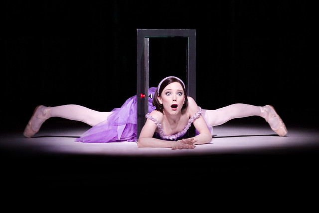 Sarah Lamb as Alice in Alice's Adventures in Wonderland © Johan Persson/ROH 2011