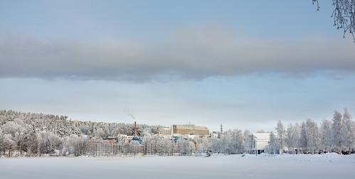 winter snow hospital finland university frost kuopio ibeauty fujix100 fujifilmfinepixx100 lr4beta