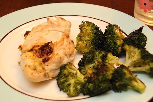 Fontina & Sun dried tomatoes stuffed chicken