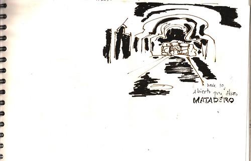Matadero. Madrid. abierto por obras