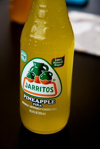 Pineapple Jarritos Soda at Casa Rasta