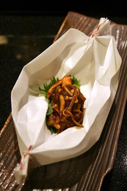 Sapporo dish: Salmon Chan Chan Yaki