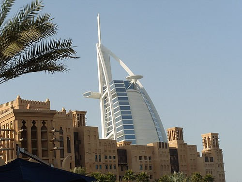 Burj al Arab on the background