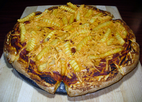 2012-02-11 - French Fry Pizza - 0009