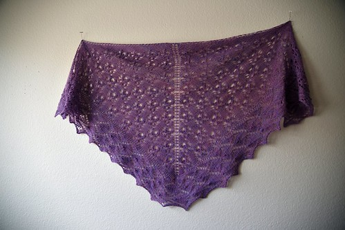 Knitted Wit Feather weight in Orchid