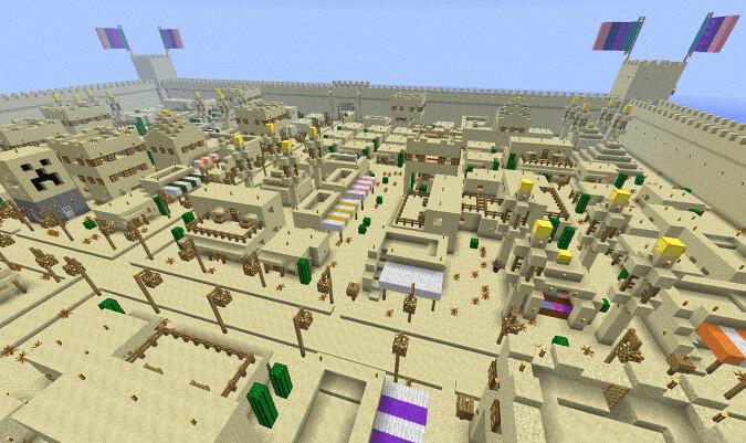 Карта minecraft wiki minecraft - e