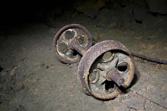 Cart Wheels - Cults Limestone Mine