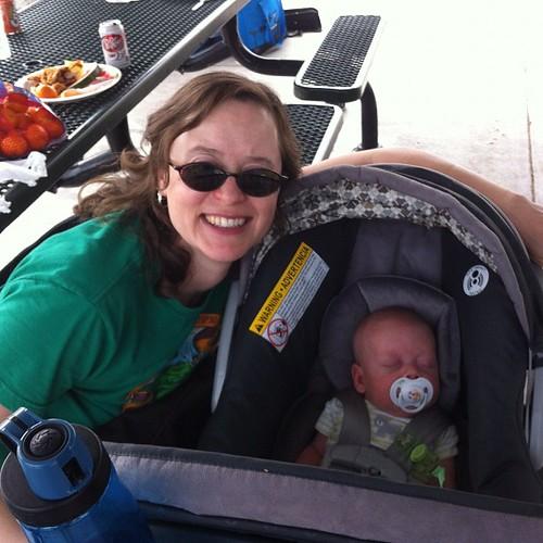 Elmer & me at the LEA Family Picnic!