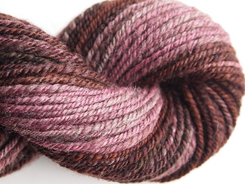 Corgi Hill Farm, 50-50 Merino-Yak-3-ply-Coffee Dreams-total 186.5yds