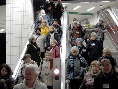 Stricker stürmen die U-Bahn