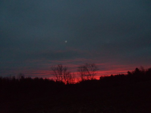 winter sky illinois febuary fosterburg