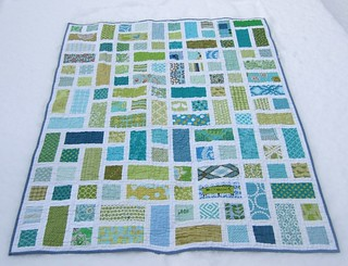 Rectangle cubed quilt