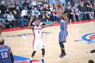 Pistons vs Bobcats