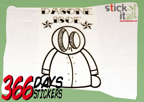 Sticker of the day!!! by Vidalooka - STICK OF IT ALL VOL.3 -