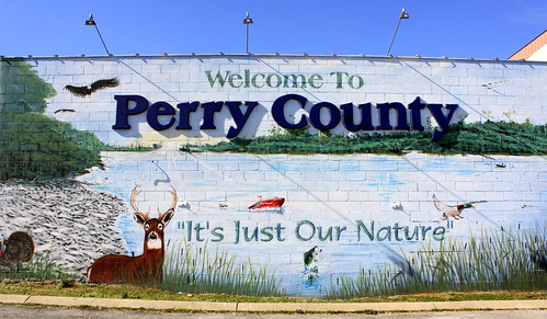 Welcome to Perry County mural