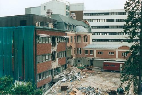 Sykehuset rives - Det eldste bygget