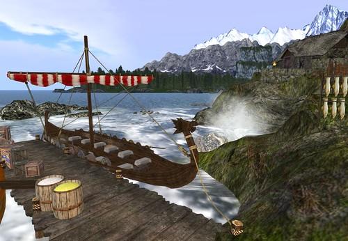 Embarcadero de Ivar's Landfall by Cherokeeh Asteria