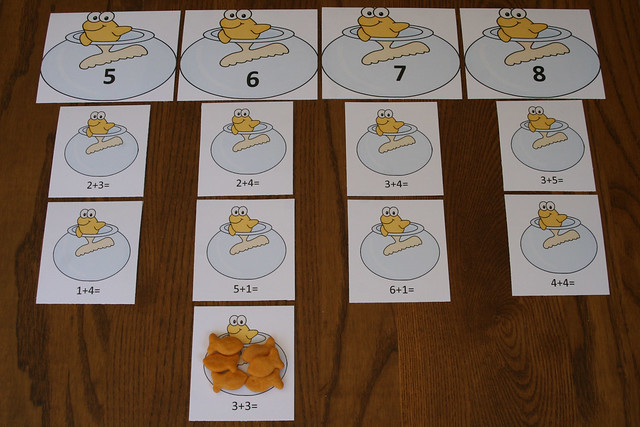 One Fish Two Fish Addition Activity