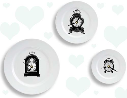 Clock Plate Clocks