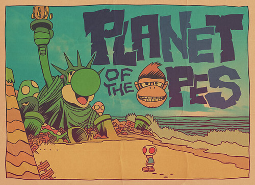 SUPER PLANET OF THE APES