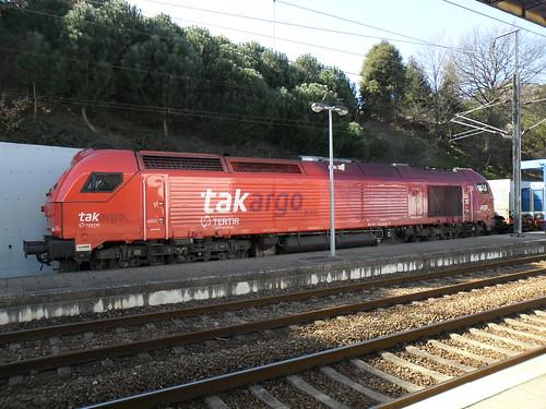 Takargo Rail 6001 em Mortágua