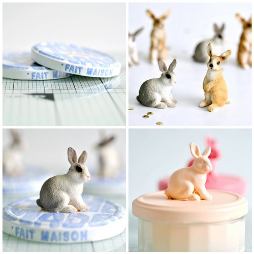 Making bunny jars