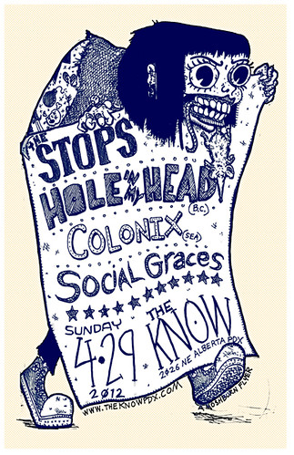 4/29/12 Stops/HoleinmyHead/Colonix/SocialGraces