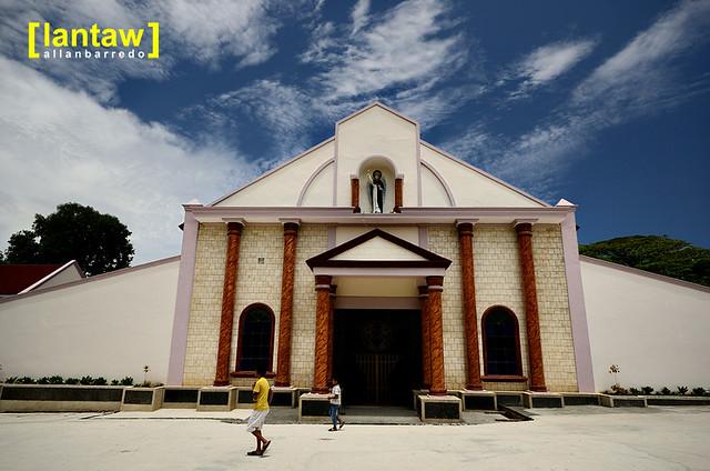 Larena Church Facade