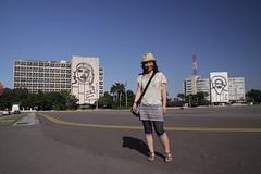 Che Guevara and Camilo @ Plaza de la Revolución