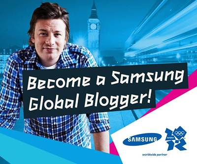 Win a free trip to London as a Samsung Global Blogger.
