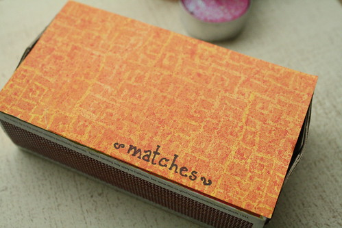 Prettified matchbox
