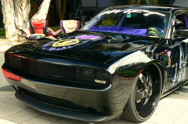 So Check Out The Front End Of This Challenger Dodge