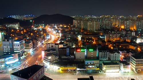 up night high nikon exposure view very south korea we extended daegu yulim d7000