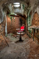 Barber Chair - Eastern State Penitentiary - Philadelphia, Pa